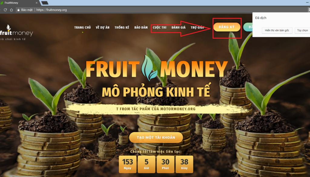 [Đã scam] FruitMoney là gì? Cách kiếm tiền với web FruitMoney.org