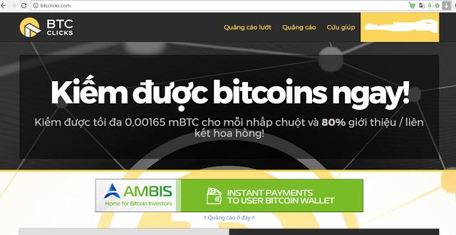Btcclicks là gì? Btcclicks.com scam hay uy tín?