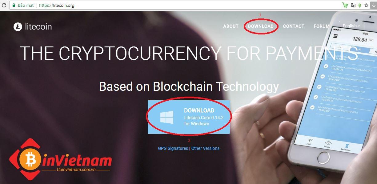 Litecoin là gì? Cách tạo ví Litecoin offline với Litecoin.org
