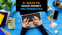 Hướng dẫn cách kiếm tiền từ Timebucks 2020